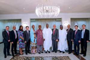 #PMBinLagos: President Buhari Meets Developers Of Lekki Deep Sea Port In Lagos (photos)