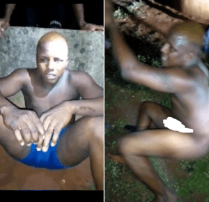 Young Man Caught While Trying To Sleep With A Young Boy In Benin City (Photos)