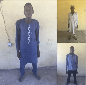 Wanted Boko Haram terrorist, others arrested by soldiers in Borno (Photo)