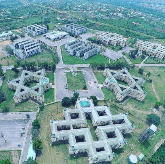 """All i see is Illuminati Everywhere, Devil rules the world"" - Nigerians react as Twitter user shares aerial view of Covenant University (Photos & Tweets)"