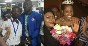#BBnaija: Evicted Housemate, Angel and Ahneeka arrives Lagos in style (Photos & Video)