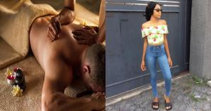 Nigerian Masseuse calls out men for not wiping their ass before coming for massage