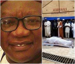 Lagos ex-council boss slumps, dies during meal at a restaurant