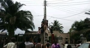 Man Electrocuted To Death In Delta State (Photo)