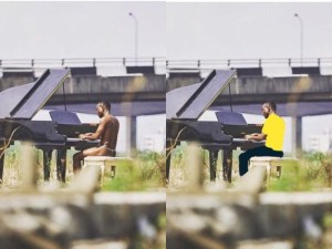 LMAO: Twitter users have started covering up Brymo and his G-string (Photos)