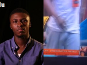 #BBnaija: See Lolu having an erection, after talking with Anto (Video)