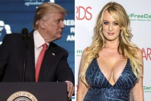 Porn actress, Stormy Daniels describes what Donald Trump's manhood size looks like