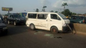 Many Injured As Edo Govt's Press Bus Involve In Ghastly Car Accident (Photos)