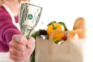 Points for eating healthy on a budget