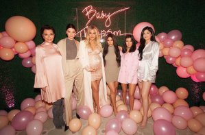 See photos from Khloe Kardashian's extravagant pink-themed baby shower (Photos)