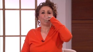 Popular Actress, Nadia Drinks Her Own Urine On LIVE TV (Photos)