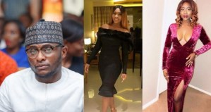 Nigerians react as Ubi Franklin merges photos of his 2 babymama in his Mother's Day post; He replies (Photos)
