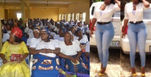 Woman Sanctioned For Wearing Trousers To Igbo Meeting In Lagos.