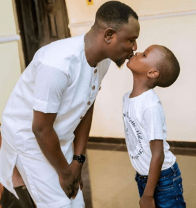 Check out this photo of a father kissing his son on the lips (Photo)
