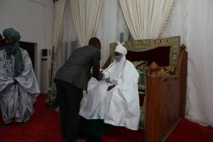 Sahara Reporters Boss, Sowore Visits Emir Sanusi As He Kick-starts His Political Ambition (Photos)