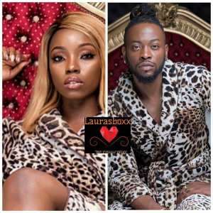 #BBnaija: Bambam And Teddy-A Slay In Matching Outfit (Photo)