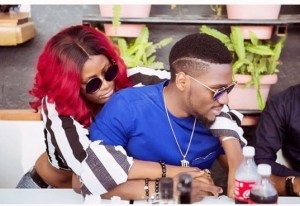 #BBnaija: See Cute Loved Up Photos Of Tobi And Alex (Photo)