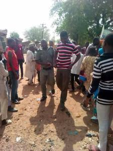 , Police Arrest Young Man For Keeping Afro Hair In Yobe State (Photos), Effiezy - Top Nigerian News & Entertainment Website