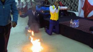 Popular Pastor turns water into Petrol in South Africa (Photos & Video)