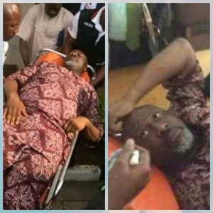 GOBE!!! Dino Melaye automatically wakes up from Coma after he was told he is going to prison (Photos)