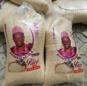 Ramadan: Striker, Ahmed Musa Donates Rice To Kano People (Photos)