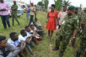 Eiye Confraternity Members Arrested By Soldiers During Cult Clash In Lagos. (Photos)
