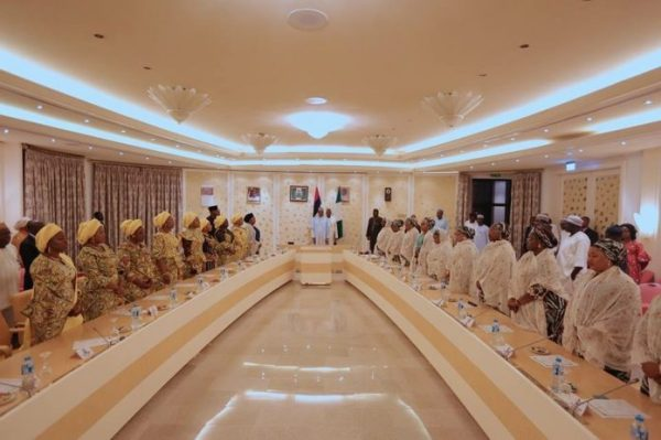 , Buhari Meets With Wives Of 36 State Governors (Photos), Effiezy - Top Nigerian News & Entertainment Website