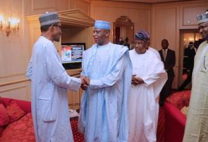 2019: New PDP meets Buhari, Osinbajo today, reveals what will happen if their requests are not met