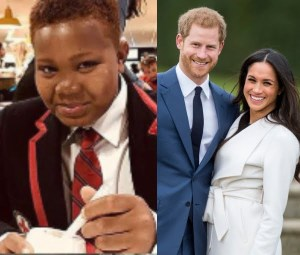 11-Year-Old Carl Adebare Adekola Becomes The First Nigerian To Sing At The Royal Wedding (Photo)