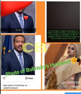 BREAKING: See Bobrisky's alleged husband (PHOTO)
