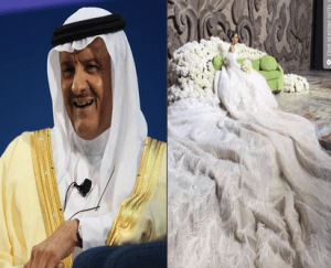 68-year-old Saudi Arabian Prince marries 25-year-old woman after paying bride price of $50million (Photos & Video)