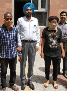 Nigerian Couple Caught With Cocaine In India (Photo)
