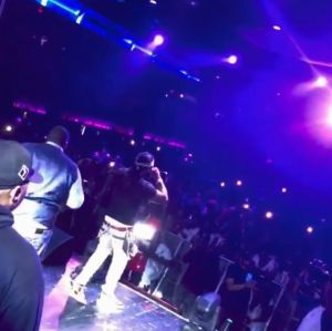 "Seems Sinzu is Davido's New Artist, As Rapper Performs ""Carolina"" with Davido in DC (Video)"