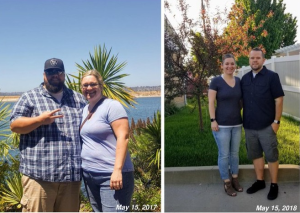 Check Out This Amazing Transformation Of An Overweight Couple In The Space Of One Year (Photos)