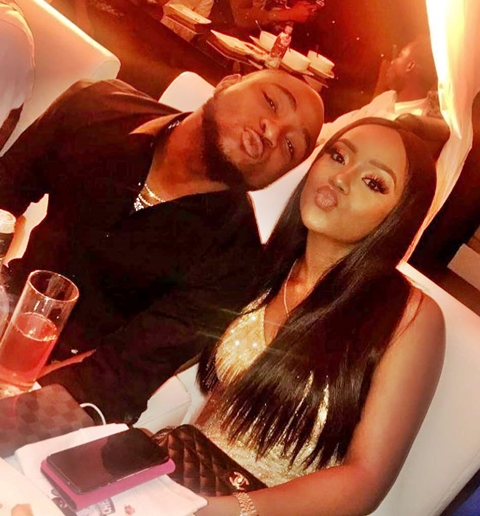 , Davido Calls Chioma 'My Oga' As He Shares Her Cleavage-Baring Photo, Effiezy - Top Nigerian News & Entertainment Website