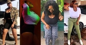 (PHOTOS): Check out this big boobs model who just finished NYSC