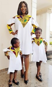 PHOTO: Actress, Mercy Johnson & Daughters Slay In Beautiful Outfit