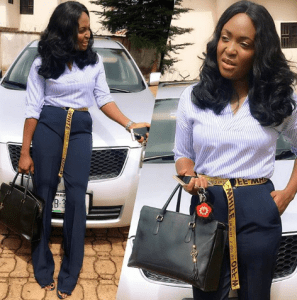 Nigerian Lady Builds Her House After Her Boyfriend Dumped Her After Building His (Photos)