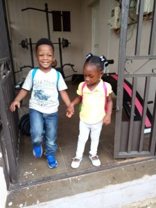 SWEET!!! See this little boy that picks his female friend to school everyday (Photos)