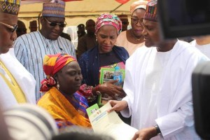 Billionaire, Aliko Dangote Gives Out 200 Houses To IDP Widows & Orphans In Borno State (Photos)
