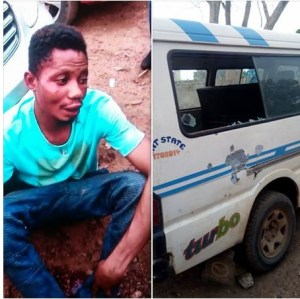 Man Parks His Car With His Daughter In Ogun; Thief Flees With Car & Daughter (Photo)