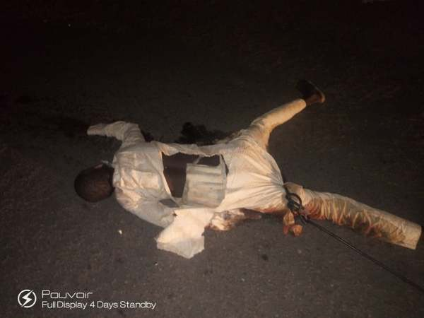 , Suicide Bomber Killed While Trying To Detonate A Bomb In Maiduguri, Borno. (Graphic Photos), Effiezy - Top Nigerian News & Entertainment Website