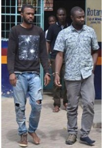 Two Nigerians Arrested For Impersonating Kenyan First Lady (Photo)