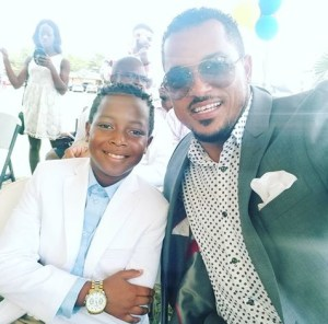 Actor, Van Vicker Shows Off His Cute Son (Photo)
