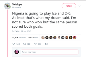 See The Man Who Predicted Eagles Winning Yesterday; Trends Online (Photos)