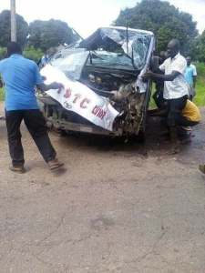 APC Delegates Involved In Car Accident On Their Way To APC Convention In Abuja. (Photos)