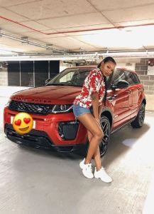 Billionaire, Femi Otedola Gifts Daughter A Brand New Range Rover Evogue As An Early Graduation Gift (Photo)