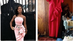 LOL!!! Nigerian Lady Calls Out Her Tailor After Sewing This For Her (Photos)