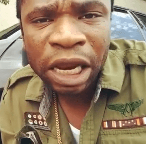Watch Video of Speed Darlington Threatening to Kill The Person Responsible For Scratching His Car