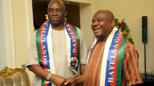 Rivers Governor, Wike  Is Planning To Help Fayose Pay Ekiti Workers 6 Months Salary Arrears – APC claims